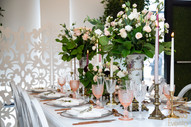 Colour pallet, that's the first thing every bride and groom think of before planning their big day. A colour pallet can define your wedding decor and style. One of the trendiest things in 2019 is to get inspired by current trends and instead of being dull and dated you can take your inspiration and create a very posh and stylish wedding. This year's colour of the year, pinkish_Orange_gold hue known as rose gold or copper can be seen in any kind of wedding style. From a very traditional wedding to a modern one you always can have a pop of a trend with your own twist. Refer to our blog for more.