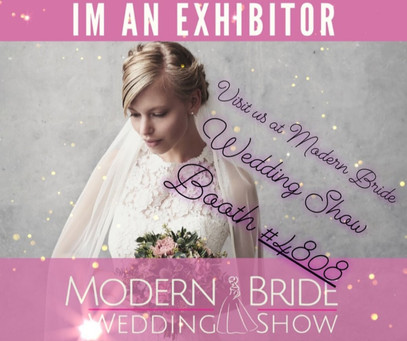 Show exhibitor for Modern bride show.