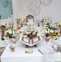 Sofrhe Aghd - meaning persian wedding cermony spread.