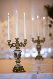 Vintage Gold Candelabra   Makes any table and setting luxe and royal.
