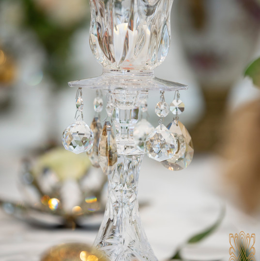 Crystal Candle holder - Sofreh Aghd items