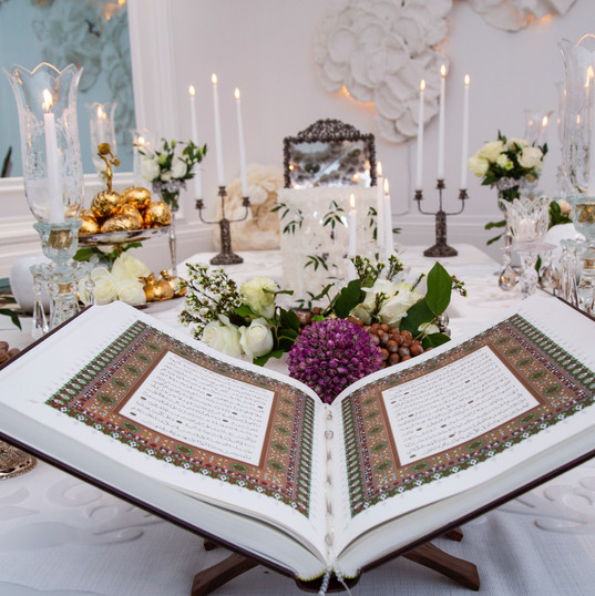 The Book   Holy book of a Poems can be used as a book which bride and groom enjoy reading together.