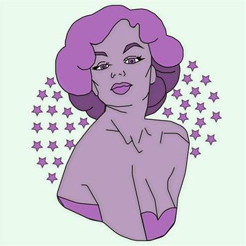 Star of Striaght Street Illustration