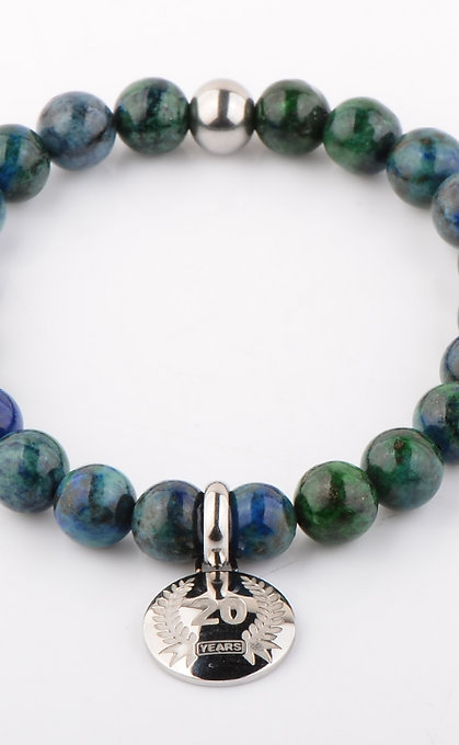Empowering The Human Spirit Azurite Chrysocolla Bracelet