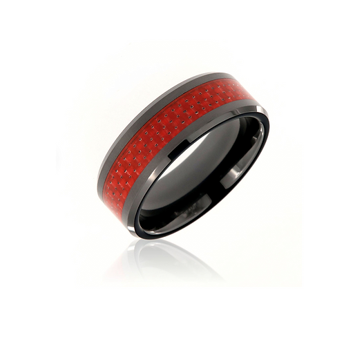 Red Carbon Tech Ring®