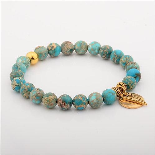 Empowering The Human Spirit IMPERIAL JASPER Bracelet