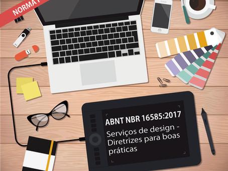 A ABNT tem duas Normas de Design publicadas