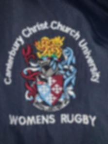 CCCU WOMEN'S RUGBY