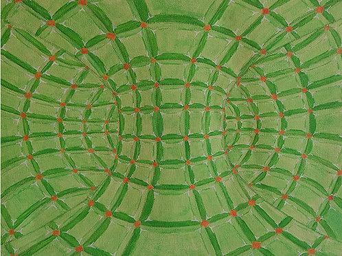 Toroidal Green (print)