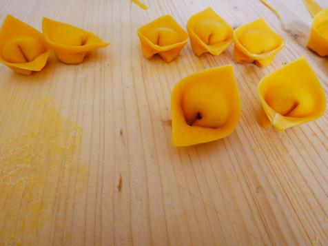 Tortelli @ Pasta Class Florence