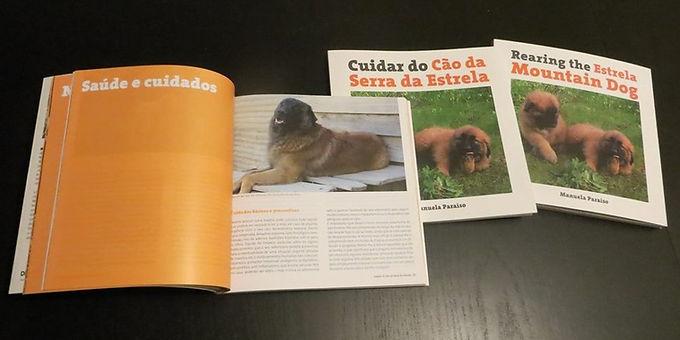 Livro Cuidar do Cão da Serra da Estrela