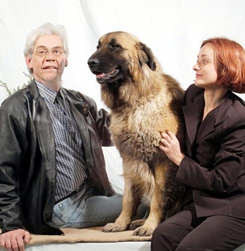 Ponta da Pinta. Manuela Paraíso e Rui Garção. Criadores de Cão da Serra da Estrela