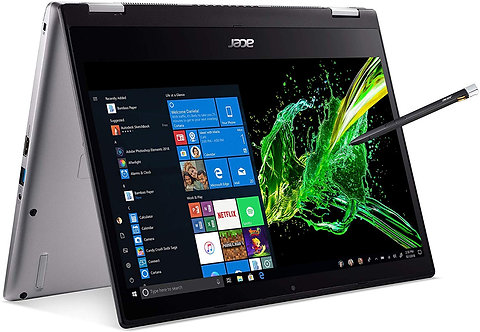 Acer Spin 3 SP314-53N 14in Full HD Touch Intel Core i7-8565U 16GB DDR4 512GB SSD
