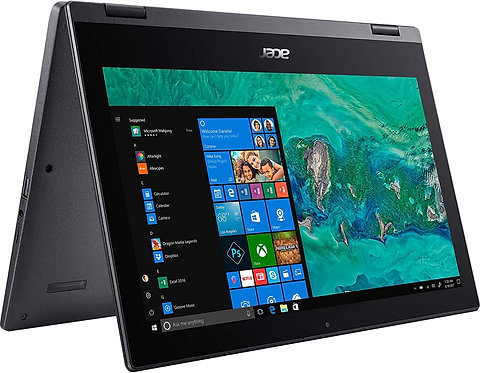 Acer Spin 1 SP111-33 Touch 2-1 Laptop Intel N4000 4GB 64GB 11.6in LCD - Black