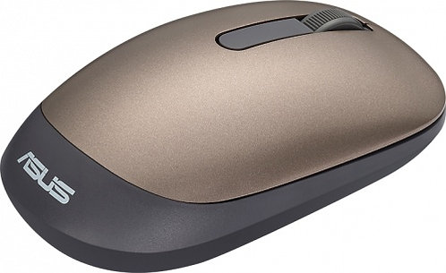 Asus WT205 Luxurious Compact Wireless Optical Mouse-gold