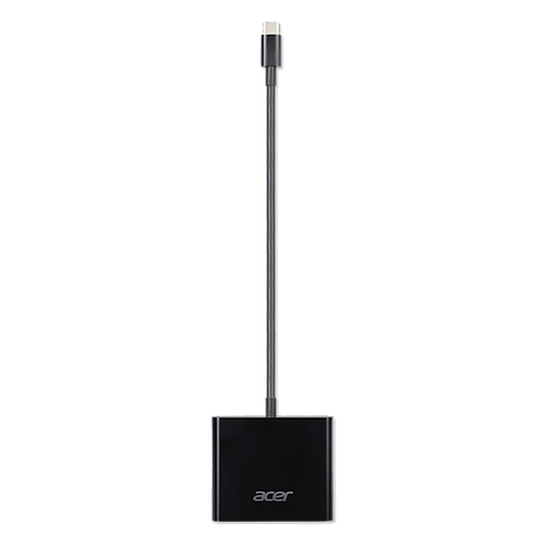 3-in-1 Adapter: USB Type-C Gen1 to DisplayPort over USB-C & HDMI & DC-in. ACB810