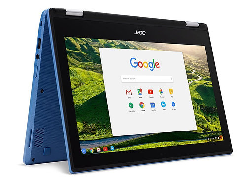 Acer R11 Convertible 2-in-1 Chromebook in Blue 11.6in HD Touchscreen Intel N3060