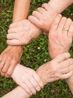 Creemos y practicamos: El trabajo en equipo.