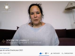 Tirage d'Oracle pour 2021
