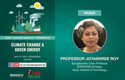 Climate Change & Green Energy Webinar