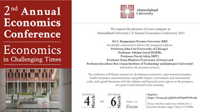 2nd Annual Economics Conference: ECONOMICS in Challenging Times