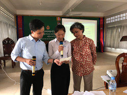 During IPCC 1.5°C Special Report Dissemination Workshop for School Students