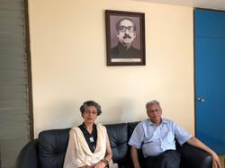 With Prof. A.K Enamul Haque