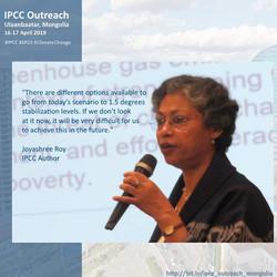 IPCC Outreach|Ulaanbaatar, Mongolia|16-17 April, 2019