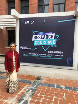 During East West Economics-RESEARCH CONCLAVE 2020| 7-8 January 2020