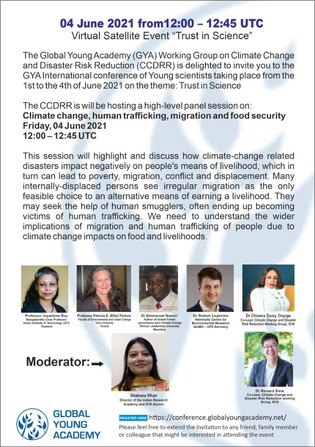 """GYA International Conference of Young Scientists - """"Trust in Science"""""""