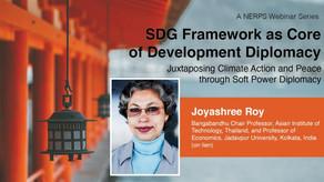 NERPS Webinar Series: SDG framework as core of development diplomacy