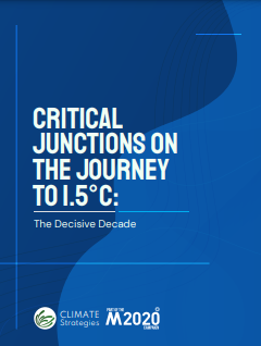 Critical Junctions on the Journey to 1.5 Degree C: The Decisive Decade
