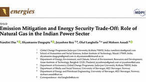 Emission Mitigation and Energy Security Trade-Off: Role of Natural Gas in the Indian Power Sector