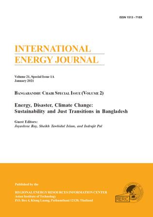Bangabandhu Chair Special Issue, Volume II: International Energy Journal