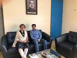 With Program Coordinator SANDEE & Lead Economist