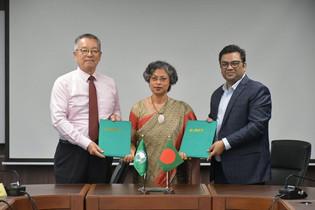 MoU Signing Between AIT & University of Liberal Arts Bangladesh (ULAB)