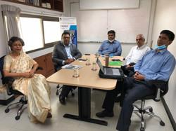 With Prof. Shamsad Mortuza, Pro Vice-Chancellor, University of Liberal Arts Bangladesh (ULAB)