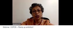 Webinar: COP26 – Ramp up ambition! | Nov 2020