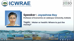 9th International Conference on Water Resources and Arid Environments | Day 3 | 31st March 2021