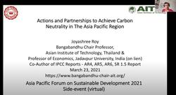 Asia Pacific Forum on Sustainable Development 2021