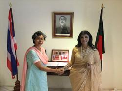 With H.E. Saida Muna Tasneem | 2018