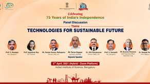 """Panel Discussion on """"Technologies For Sustainable Future"""""""