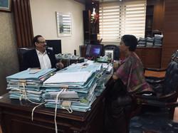 With Chairman of PetroBangla, Dhaka