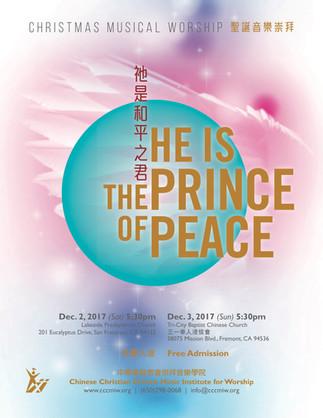 祂是和平之君 He is the Prince of Peace