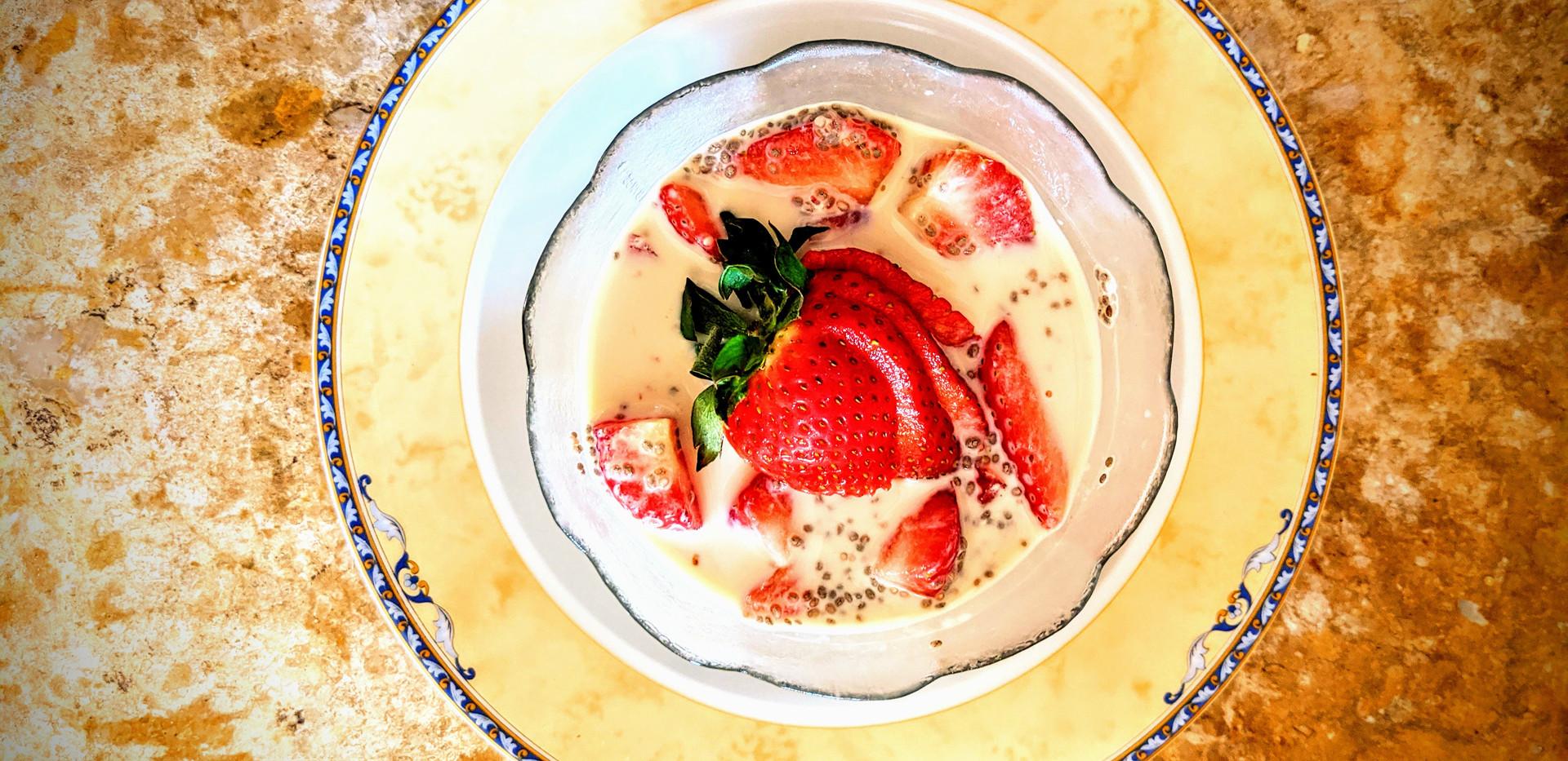 Chia Pudding Strawbery