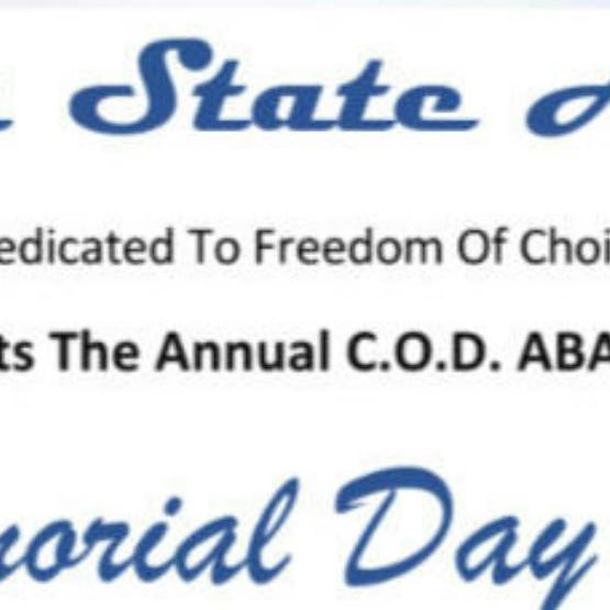 Annual Memorial Day Run