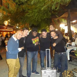 Luciano, Mike, Argy and Cadenza Crew