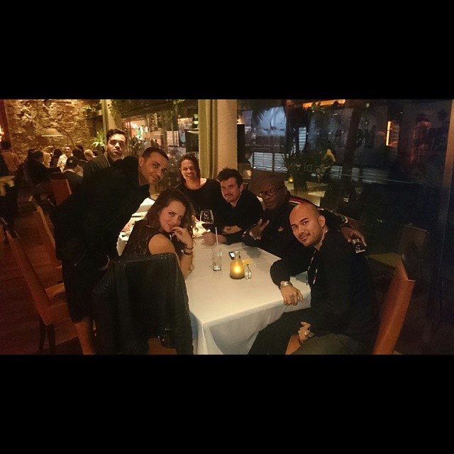 Dinner with Luciano and Cadenza Crew