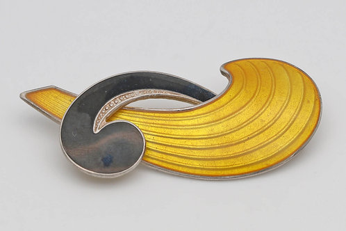 Vintage Albert Scharning Norwegian brooch