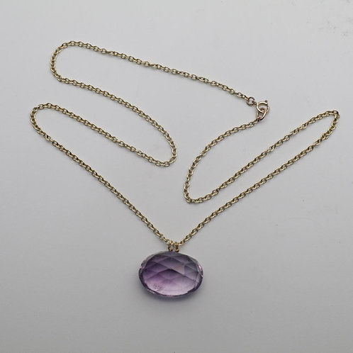 Antique amethyst pendant